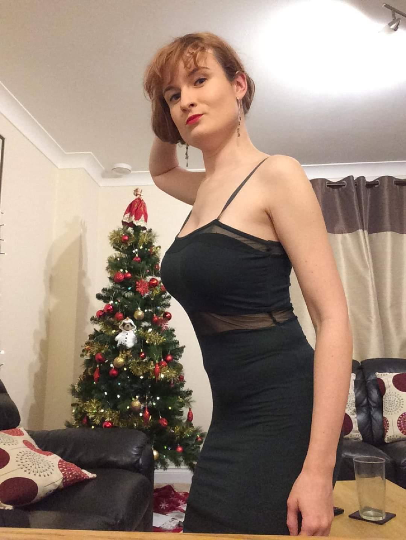 AB in Dress